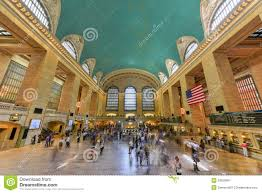 Grand Central Terminal Map Grand Central Terminal Main Lobby New York Editorial Photography