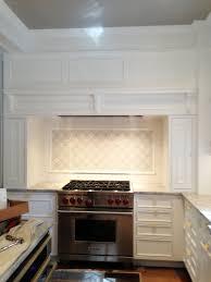 interior cool the kitchen back wall of ceramic tile backsplash