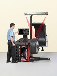 hunter engineering company smartweight balancer in wheel balancers