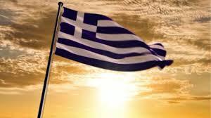 Greek Flag Background Science Timeline By Grace L