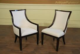 High Back Brown Leather Dining Chairs Dining Chair Finest Antique High Back Dining Chair Outstanding