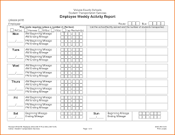 Expense Report Mileage by 6 Weekly Activity Report Template Expense Report