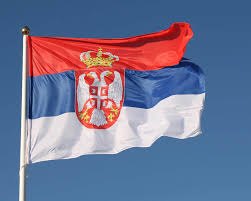 Blue Flag With White Star In The Middle Serbia Flag Colors Meaning U0026 History Of Serbia Flag