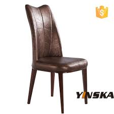 Faux Leather Dining Room Chairs Dining Chairs Mary High Back Faux Leather Dining Chair Solid Oak