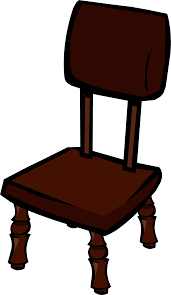 Wooden Chair Clipart Png Rosewood Chair Club Penguin Wiki Fandom Powered By Wikia