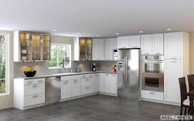 small modern kitchen design ideas room plus small l simple design with shape white modern kitchen