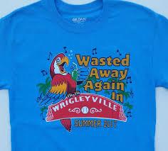 jimmy buffett 2017 wrigley field concert t shirt parrot heads
