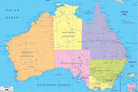 Australian World Map by World Map A Collection Maps Of World Countries