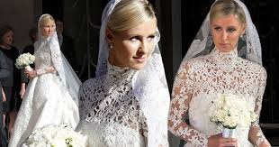 richie wedding dress pictures of nicky s stunning wedding dress heiress