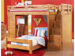 Wooden Loft Bed With Desk Underneath Bedroom Excellent White Solid Wood Loft Bunk Bed With Sliding