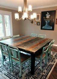 Woodworking Plans For Kitchen Tables by 5 U0027 Square Farm Table By Perryloop On Etsy Woodworking Plans