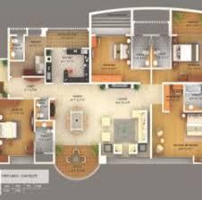 Small Bungalow House Plans Smalltowndjs by 3d House Floor Plan Interior Design