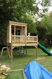 Back Yard House Like This Would Fit In Small Yard Yet Has Lots Of Climbing Areas