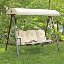 hampton bay durable 3 person futon outdoor yard patio porch swing