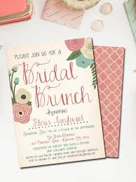 wedding shower brunch invitations printable bridal shower invitations you can diy