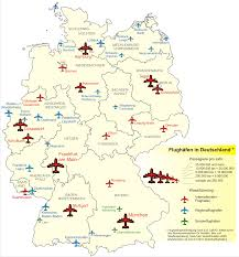 Essen Germany Map by Airports In Germany 2008 Full Size