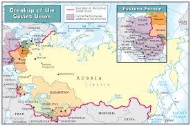former soviet union map breakup of the soviet union zoom