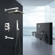 Waterfall Bathroom Faucet Canada by Wall Mounted Shower Faucet Brass With Chrome Finish 7523