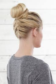 Bun Extension Hair Piece by 11 Beautiful Braids For Short Hair More Com