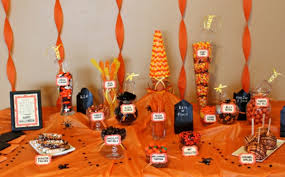 Candy Tables Ideas A Halloween Candy Buffet Oh Nuts Blog
