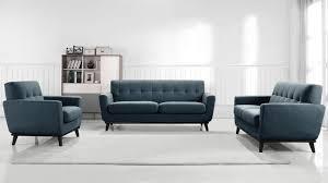 canapé 3 2 places tissu salon stockolm avec canapé 3 places 2 places fauteuil capitoné