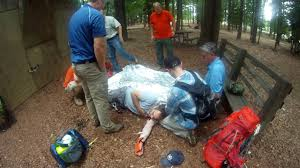 wilderness first aid scenario youtube