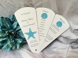 petal fan wedding programs the wedding sophisticate sophisticated custom stationery all page 4