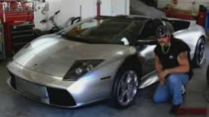 red chrome lamborghini rapper 50 cent arrested driving his chrome lambo video dailymotion
