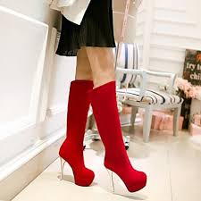 womens white knee high boots nz s shoes nz toe stiletto heel knee high boots more