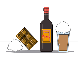 cartoon alcohol bottle 3 ways to drink kahlua wikihow