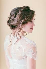 chignon tressã mariage les 32 meilleures images du tableau coiffures sur