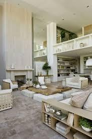 living room simple minimalist light wood paneling around marble