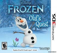 disney frozen olaf u0027s quest review 3ds nintendo