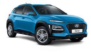 teal blue car kona hyundai australia