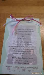 How To Print Invitation Cards Homemade Wedding Invitations Tape Pic To Piece Of Card Stock