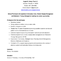 Pharmacy Resume Examples by Remarkable Health Pharmacist Resume Template Sample For Job