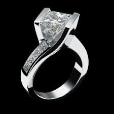 unique engagement rings for women unconventional woman diamond ring sterling leaf jewelry