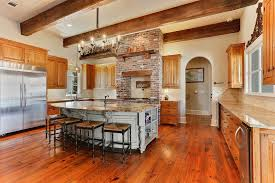 Kitchen Islands With Stoves 47 Brick Kitchen Design Ideas Tile Backsplash U0026 Accent Walls