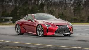 top speed of lexus lf lc is a faster version of the gorgeous lexus lc500 on the cards