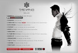Wedding Dress Lyric Taeyang Daily K Pop News Tae Yang