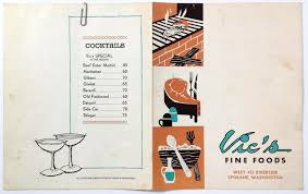 vintage martini illustration vintage spokane