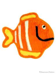 Fish Bath Rug Colorful Fish Bathroom Bathmat Kids Bath Mat Rug Carpet At4nd145