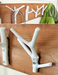cool diy branch coat rack furniture