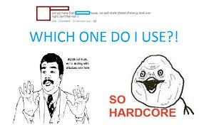 So Hardcore Meme - hmm