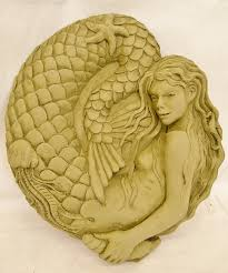 Garden Wall Plaque by Nixie The Mermaid Wall Plaque Garden Ornament Wall Hanging