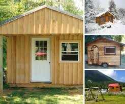 tiny cabins plans make your own tiny home