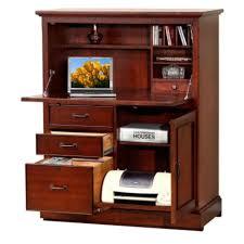 Office Hutch With Doors Computer Armoires U0026 Laptop Cabinet Desks W Doors Officefurniture Com