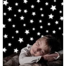Glow In The Dark Star Ceiling wallpops glow in the dark stars decals ivory target