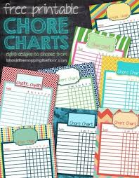 sample chore chart chore list template chore chart maker
