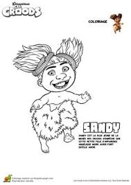 croods coloring ugga kids activities coloring pages